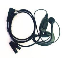 2pin Ear Bar Earphone Mic PTT Headset For Motorola Transceiver GP88 GP88S GP2000 XTN500 XU2600 SV10 HYT TC500 Two Way Radio