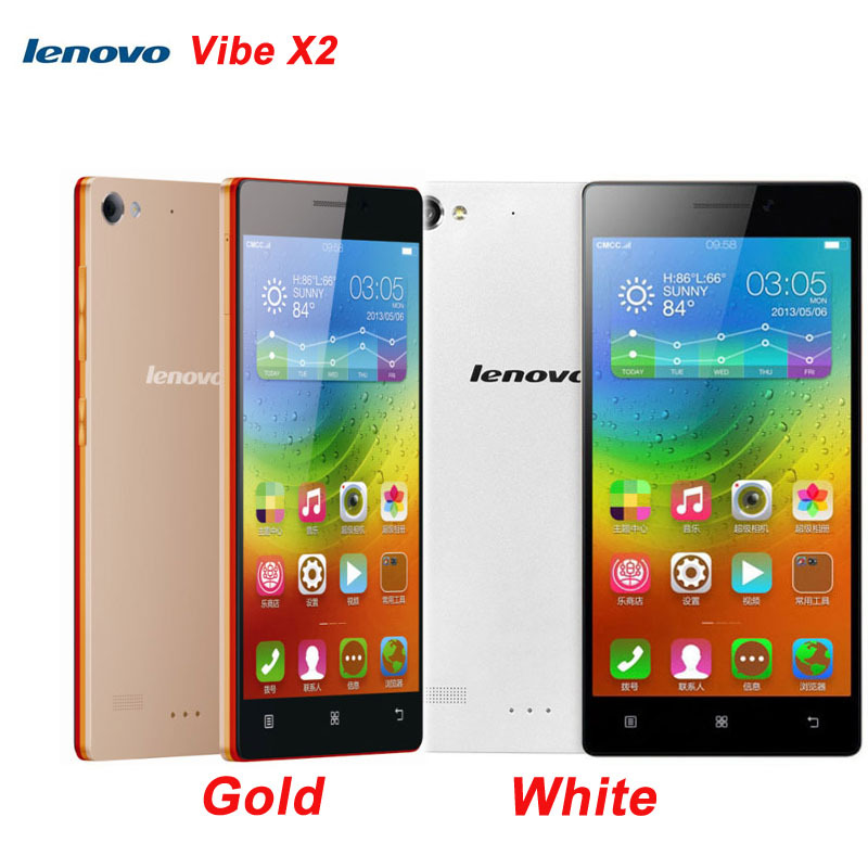 Оригинальный Lenovo VIBE X2 5.0 '' андроид 4.4 смартфон MTK6595M Octa ядро 2.5 ГГц оперативной памяти 2 ГБ + внутренняя память 32 ГБ / 16 ГБ FDD-LTE и WCDMA и GSM