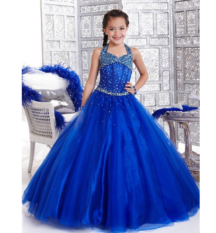Long Dresses For Kids Photo Album - Reikian