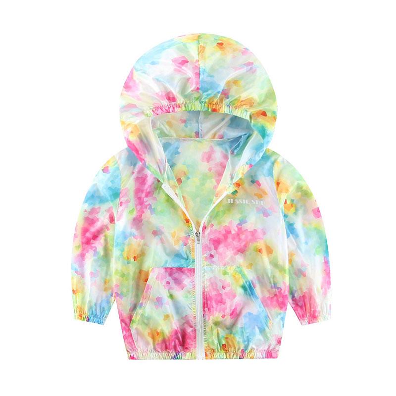 2016 New Summer Children Jackets Fashion Color Kids ...