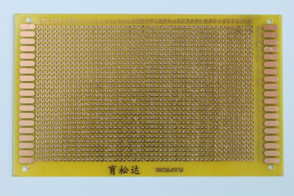 Fiberglass panels epoxy board 9 * 15 universal board 9CM * 15CM breadboard circuit board circuit boards pegboard(China (Mainland))