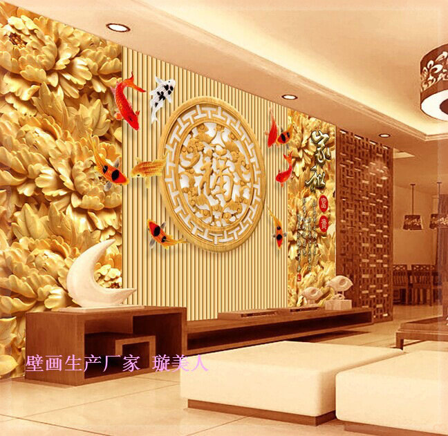 Wall Decor Contact Paper : Luxury wallpaper square meter wall painting adhesive