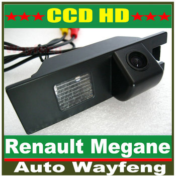 HD CCD Car Rear View Camera Reverse Parking Camera back up Camera Renault Megane Camera night vision waterproof High resolution
