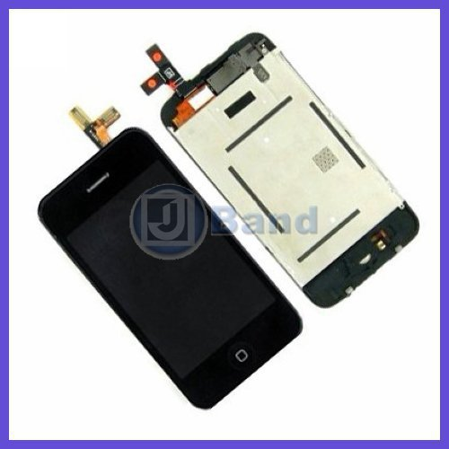 Whloesale 2pcs/lot 100% New For iPhone 3G 3GS Touch Digitizer + LCD Display Assembly White Black Free Shipping(China (Mainland))