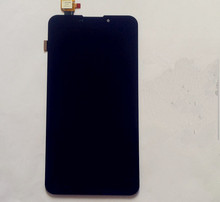 Texted Free shipping For UMI C1 6.44 inch Black color 1920*1080 Lcd Display Touch Screen Digitizer Assembly tracking code