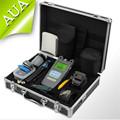 10pcs set Fiber Optic FTTH Tool Kit with SKL 6C Fiber Cleaver and Optical Power Meter