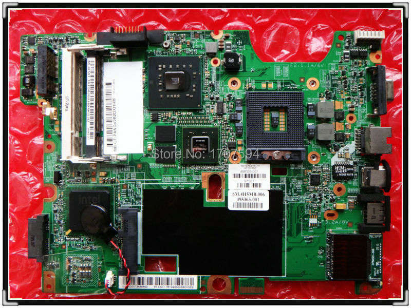 48.4I501.021 original 488338-001 for HP compaq presario CQ50 CQ60 CQ70 laptop motherboard 100% Test ok G98-605-U2(China (Mainland))
