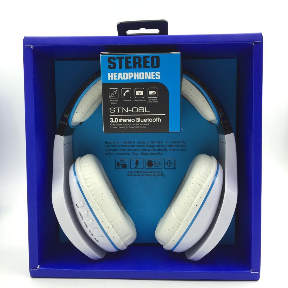 Wireless Headphones Bluetooth Headset STN-08L FM Stereo Radio Mp3 Player Fone De Ouvido(China (Mainland))