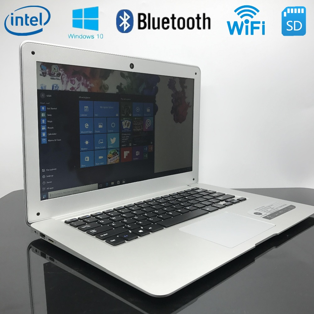 10000mAh Battery 14 inch 4G RAM 64G SSD In-tel Atom X5-Z8300 Windows10 HDMI WIFI System Laptop with bluetooth(China (Mainland))