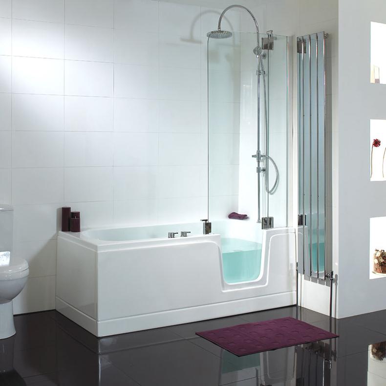 Online Get Cheap Glass Bathtub Door Alibaba Group