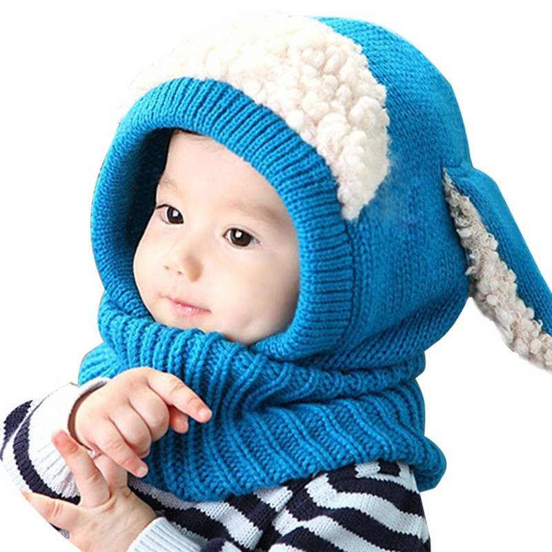 Baby-Hat-With-Scarf-Toddler-Winter-Beanie-Warm-Hat-Hooded-Scarf-Earflap-Knied-Cap-Cute-Cartoon (3)