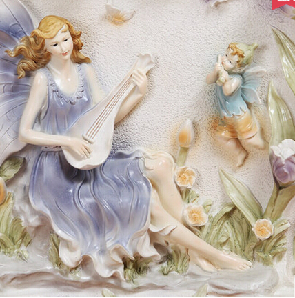 Angel ornaments creative gifts home decorations living for Angels decorations home