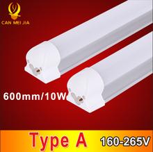 1pcs High Power T8 Tube Led 600mm Tube Lamp 9W 10W 3ft T8 Led Tube Light 600mm 110V 220V Led Tube Fixture For Home Lighting(China (Mainland))