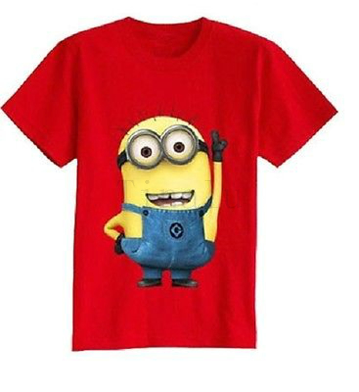 Minions t shirt kinder 25 best ideas about minion shirts for Minion clothespins
