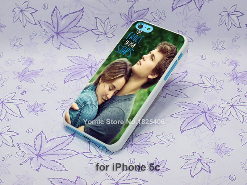The Fault in Our Stars (3) Pattern hard White Skin Case Cover for iPhone 4 4s 4g 5 5s 5c 6 6s 6 Plus