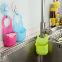 Creative Folding Hanging Silicone Bathroom kitchen Gadget storage Box Silicone Storage Bag Hot 2015