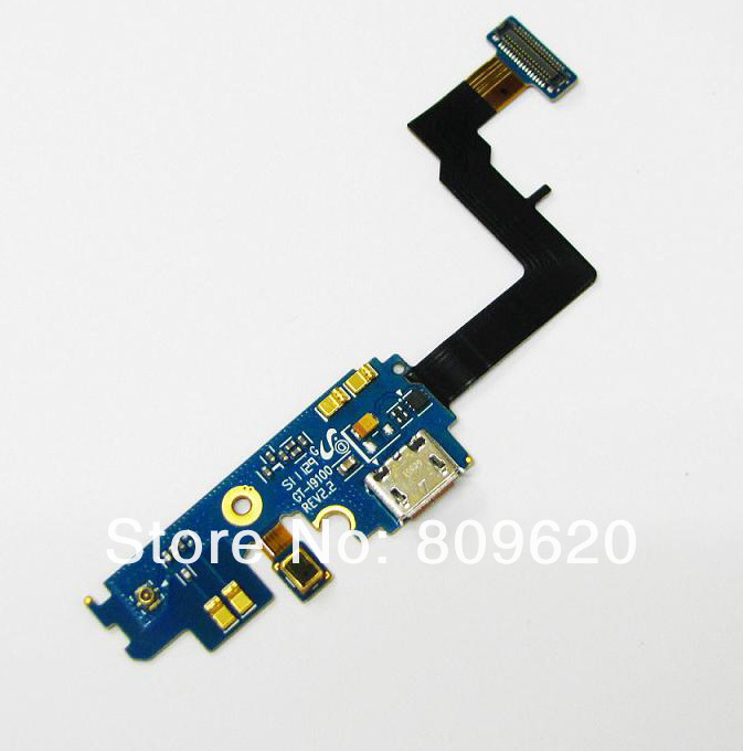 For Samsung galaxy s2 I9100 USB Connector Charger Port Dock Charging Flex Cable(China (Mainland))