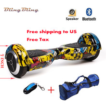 electric scooter with bluetooth speaker 2 wheels Mini Smart Self Balancing Electric Unicycle Scooter hands free hoverboard