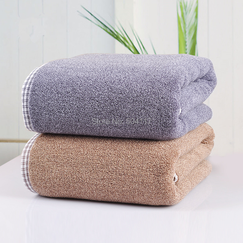 new 2016 size 83*160cm 1pc/lot 100%cotton bath towel for adult towels bathroom men toalha de banho free shipping big bath sheet(China (Mainland))