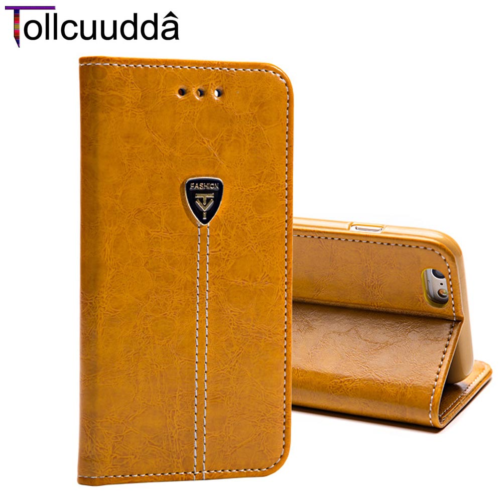 Leather Mobile Phone Cover Case Bag For Apple Iphone 4 4s 5 5s 6 6 7 Plus Stand Flip Top Coque Cell Phone Fundas Wallet Case Bag(China (Mainland))