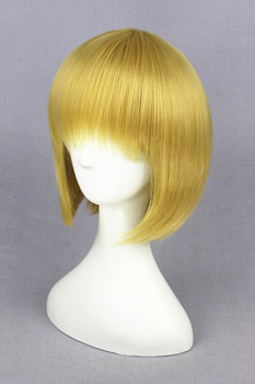 30cm Shingeki no Kyojin-Armin Arlart Gold Synthetic Anime Cosplay Wig