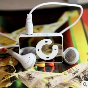 waterproof mini clip sport mp3 music player + cable + earphone + 1G momery card(China (Mainland))