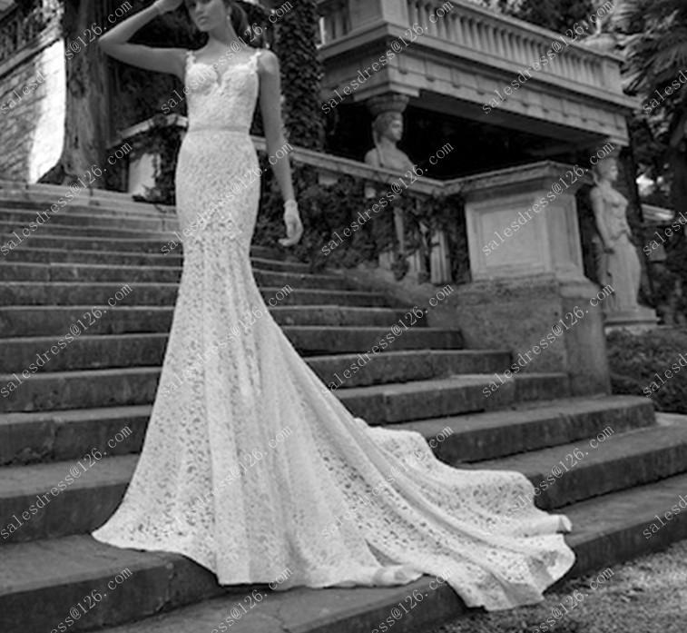 Aliexpress Buy Berta Wedding Dress 2014 Sexy Backless Wedding Dresses Mermaid Wedding