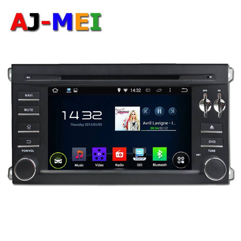 Car DVD android 4.44 quad core 1024*600 GPS navigation system for Porsche Cayenne with radio central multimedia cassette player(China (Mainland))