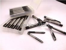 Envío de la alta calidad del acero de aleación made 7 unids/set 3 – 12 mm recto Manual de Tap Taps M3 M4 M5 M6 M8 M10 M12