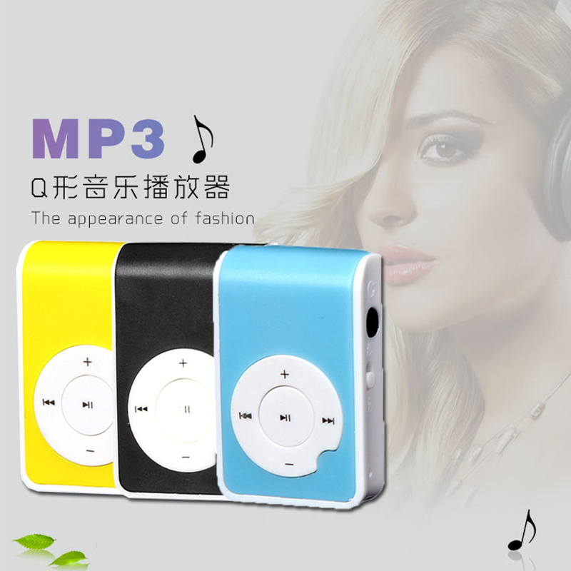 2016 New Fashion Portable mini MP3 Player Support Micro TF/SD Card sport mp3 Music players Extroverted mp3 speaker #EB558(China (Mainland))