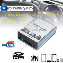 Buy USB SD AUX MP3 Car Music Interface Player CD Changer Adapter Charger BMW E39 X3 X5 Z4 Z8 MINI R5x 10PIN 12PIN Car Parts for $39.43 in AliExpress store