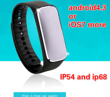 2015 newest health tracker pulseira smartband 37 degree bracelet with meaturing heart rate,blood pressure, mood reloj pedometer