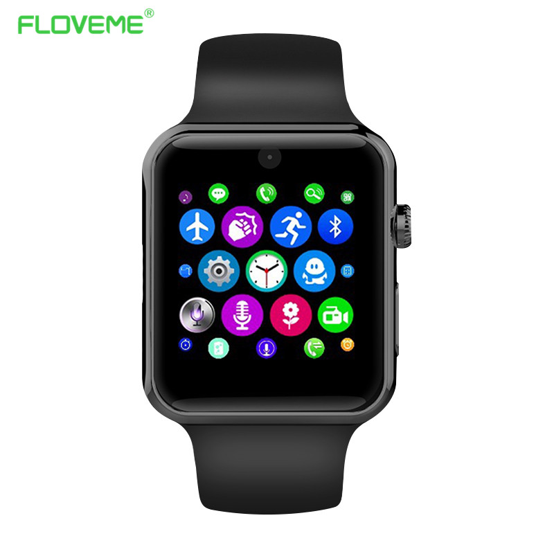 Floveme K3 <font><b>Smart</b></font> <font><b>Watch</b></font> Clock Sync Notifier Sport Pedometer Reminder Handsfree Bluetooth Smartwatch For iPhone Samsung Xiaomi <font><b>LG</b></font>