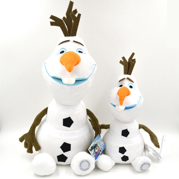 18.1inch High Quality Olaf Plush Kids Toys Snowman Cartoon Animation Plush Doll Boy & Girls Birthday Gift Doll Collection(China (Mainland))