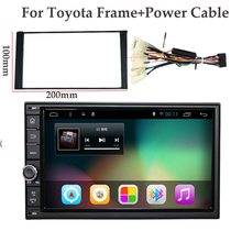 "7"" 2Din 1024*600 Android 4.4 Car Tap PC Tablet  2 din Universal  For Nissan GPS Navigation BT Radio Stereo Audio Player(No DVD)(China (Mainland))"