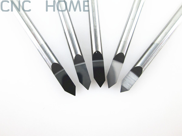 3.175*60 Angle*0.3mm- 10PCS 1/8'' CNC Metal Cutter Tool, Quality V-shape Carbide CNC Router Engraving Bits, Wholesale Price(China (Mainland))