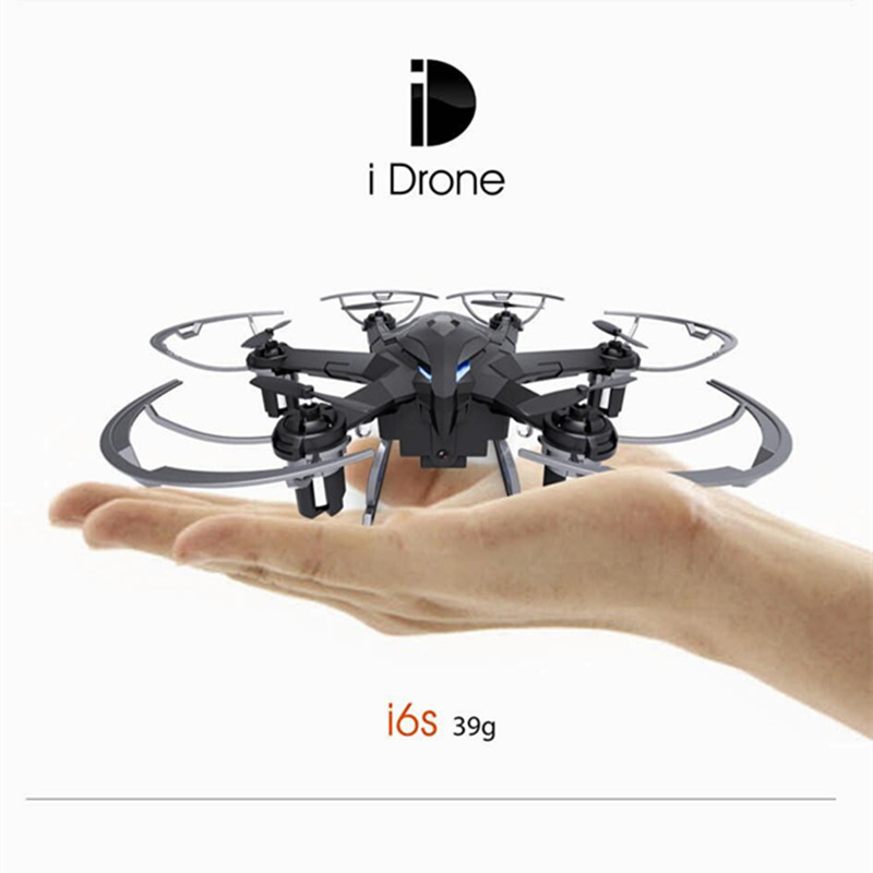 Yizhan I6S Mini Drone With Camera quadrocopter 2.4G quadcopter drones with camera hd 6 axis Rc Helicopter Dron VS JJRC H20 cx10c(China (Mainland))