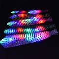 LED Sequin Light Up Necktie Blinking Tie with Sequins Children Day Christmas Wedding Halloween Christmas