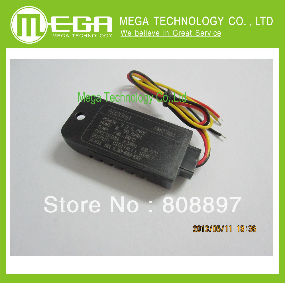 1pcs DHT21 100 New Digital output relative humidity temperature sensor module connect with single bus line