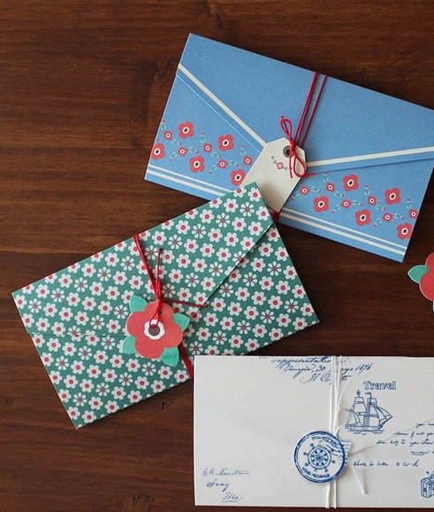 Free Shipping/New Vintage Blue series envelopes/DIY gift stationery/Wholesale<br><br>Aliexpress