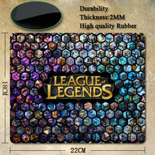 League of Legends logo Wallpaper Silicone gaming mouses mat 5 Pictures real pad for choices(China (Mainland))