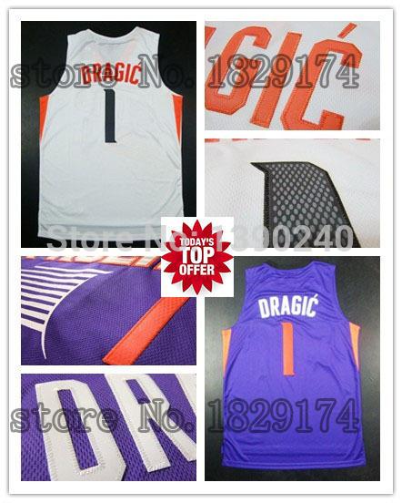 Free shipping newest 2014 fashion Goran Dragic Phoenix jersey cheap usa shirt authentic retro jordans online new Dragic jerseys(China (Mainland))