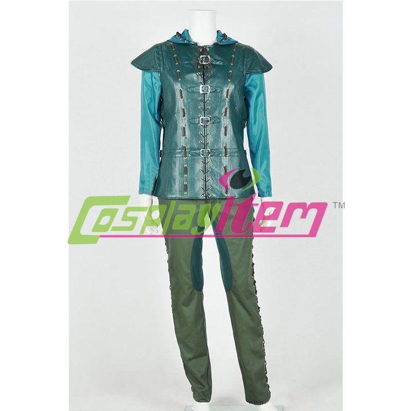 Customized  Doctor Who 8 cosplay costume Robin Hood Cosplay Costume with hat