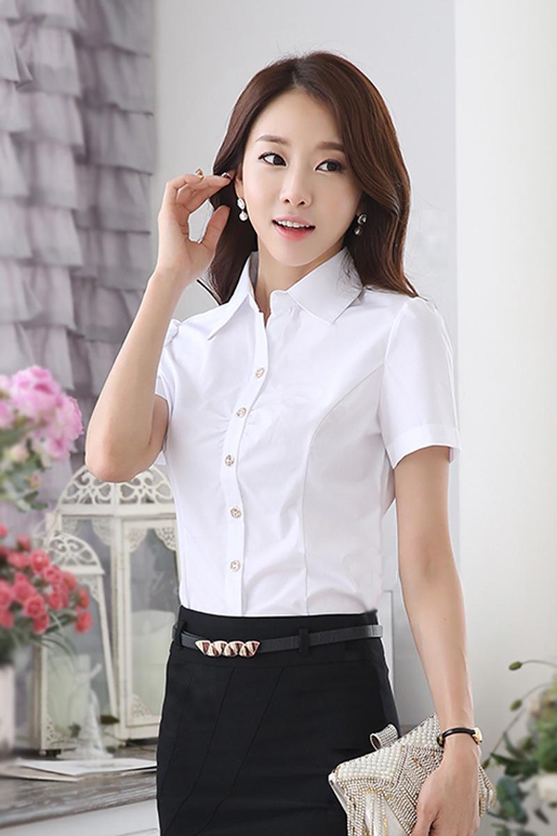 Белые Блузки Для Офиса В Спб