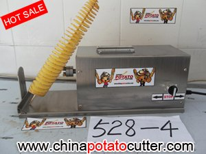 Здесь можно купить  528 TwistedChips Turning Slicer video  chips maker ribbon fry cutter (with counter) 528 TwistedChips Turning Slicer video  chips maker ribbon fry cutter (with counter) Дом и Сад