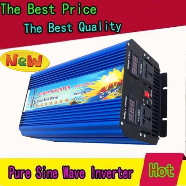 4000W/4000W Off Grid Inverter for solar panel, dc to ac Pure sine wave Power Inverter 12V 220V(China (Mainland))