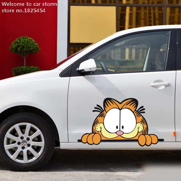 56*31cm L# Cartoon car stickers garland whole car renault toyota tiguan regal Cruze amg Multiple Car styling 100%NEW :)(China (Mainland))