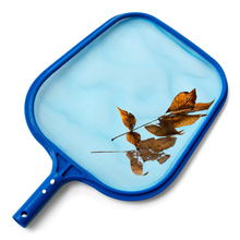 Swimming Pool Spa Pond Leaf Skimmer Mesh Sturdy Plastic Frame Head Surface Shallow Water Net Salvage Leaves Of Swimming Pool