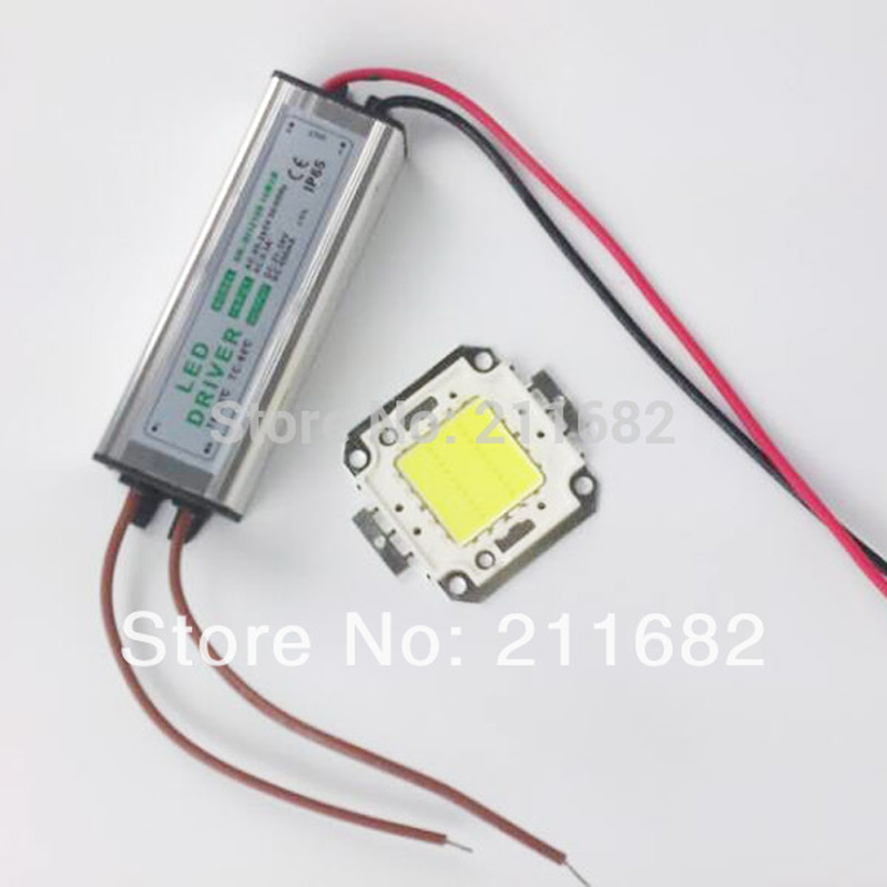 1cheapest 10W 20W 30W 50W 100W COB High Power LED chip led flood light chip+LED power supply floodlight driver - Hagood Technology Co., Ltd store
