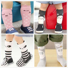 4 Styles Leg Warmers Cartoon Totoro Owl Baby Tights Leggings Cotton Knee Socks For Kids Legging